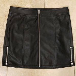 NWT!!! EXPRESS FAUX LEATHER SKIRT!
